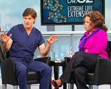 Dr Oz recommends Resveratrol