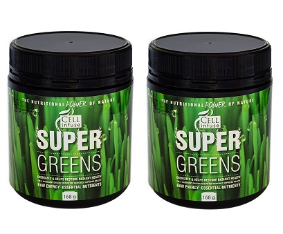 CELL Infuse Super Greens double pack