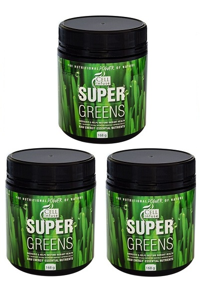 CELL Infuse Super Greens Triple Pack