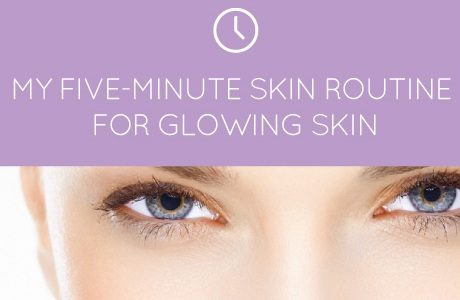 routine for glowing skin