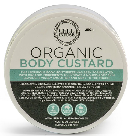 CELL INFUSE Organic Body Custard