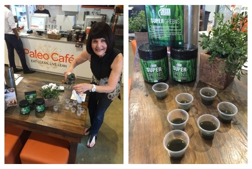 CELL Infuse Super Greens tastings