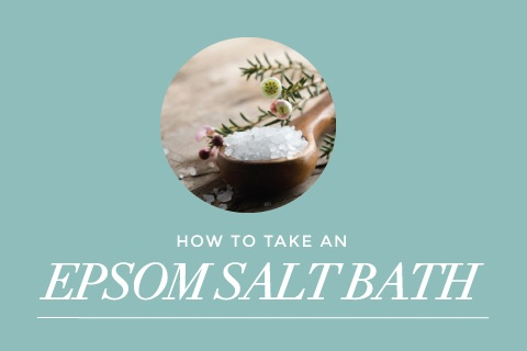 how to take an epsom salt bath