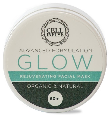advanced formulation CELL INFUSE Glow Facial Mask