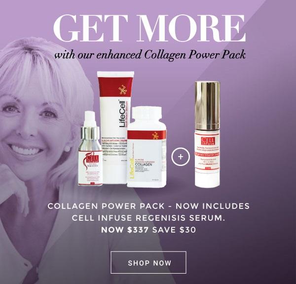 LifeCel Enhanced Collagen Power Pack