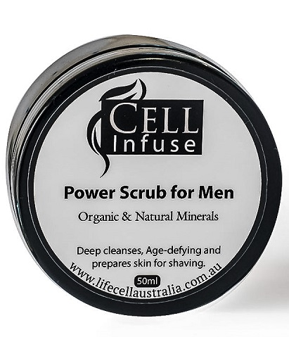 CELL Infuse Power Scrub for Men