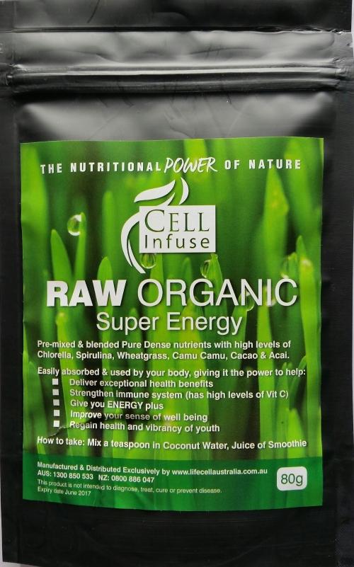 Raw Organic Super Energy