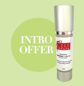 introducing the new CELL Infuse Organic Cleanser