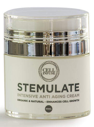 CELL INFUSE STEMULATE organic anti-aging cream