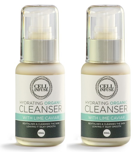 CELL INFUSE Hydrating Organic Cleanser double pack