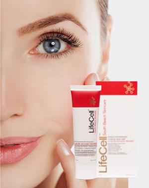LifeCell anti-aging cream provides skin nutrients