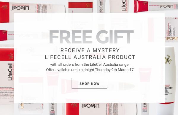 free gift with LifeCell Australia