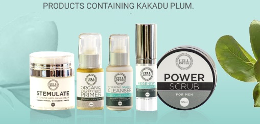 products containing Kakadu Plum