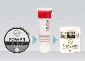 exfoliate your skin with power scrub